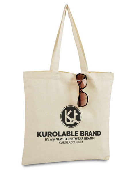 The Kurolabel Logo - Bargain Canvas Tote - Kurolabel Brand
