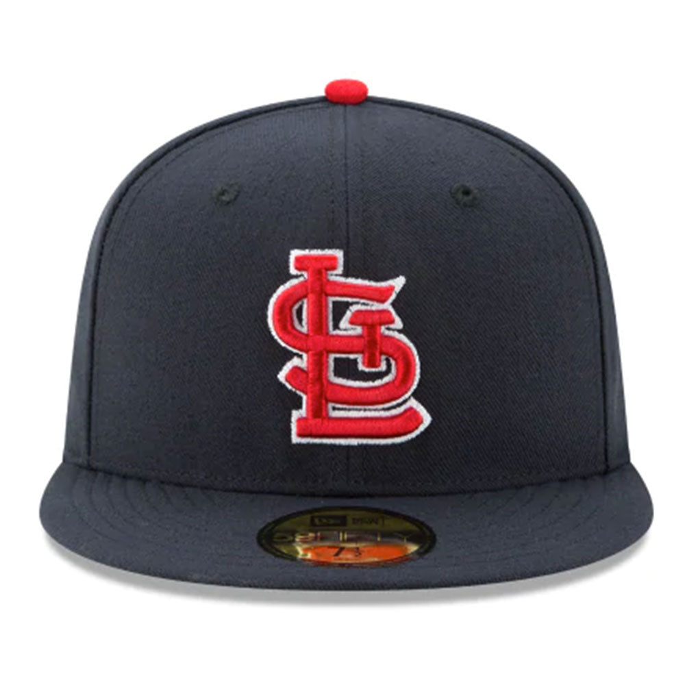St. Louis Cardinals New Era Navy Alternate Authentic Collection On-Field 59FIFTY Fitted Hat - Kurolabel Brand