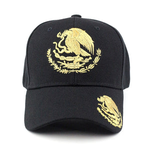 Solid Mexico Eagle Baseball Cap - Kurolabel Brand