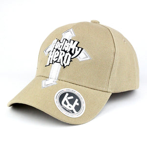 God is My Hero Baseball Cap - Kurolabel Brand