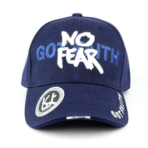 No Fear Got Faith Baseball Cap - Kurolabel Brand