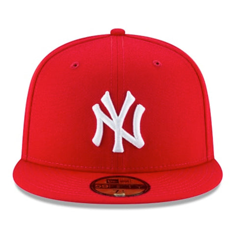New York Yankees Scarlet Basic 59fifty Fitted - Kurolabel Brand