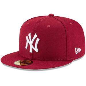 New York Yankees New Era Crimson Fashion Color Basic 59FIFTY Fitted Hat