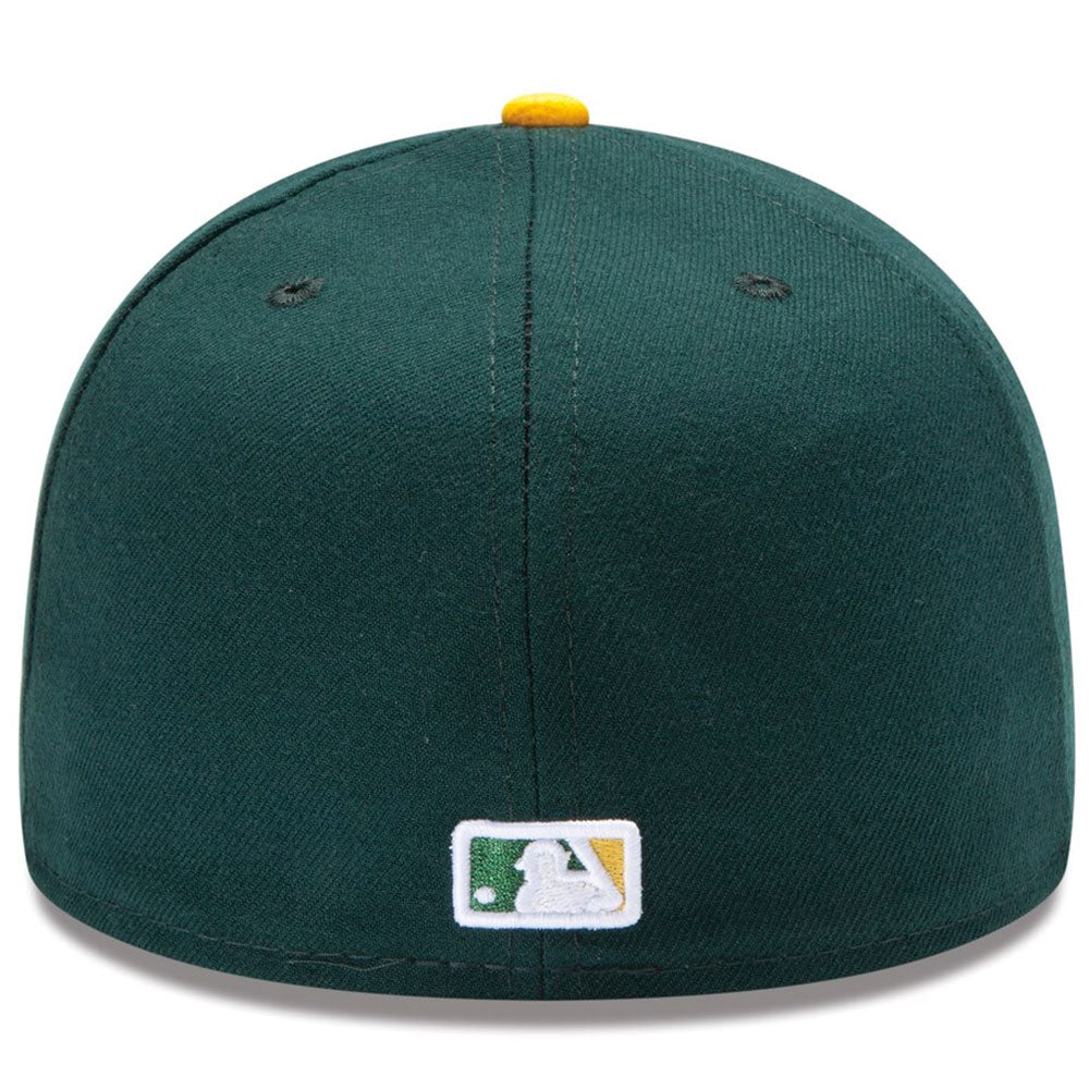 Oakland Athletics New Era Green/Yellow Home Authentic Collection On-Field 59FIFTY Fitted Hat - Kurolabel Brand