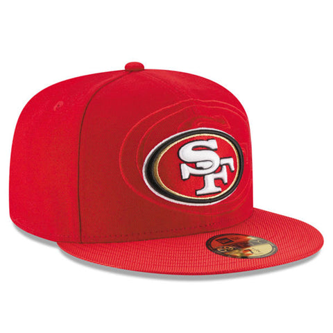 New Era NFL 49ers On field SCA Red Cap