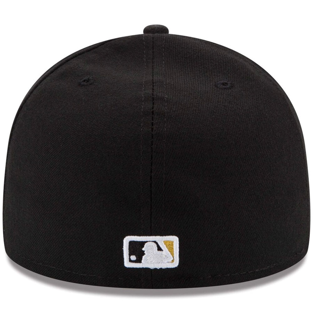 Pittsburgh Pirates New Era Black Game Authentic Collection On-Field 59FIFTY Fitted Hat - Kurolabel Brand