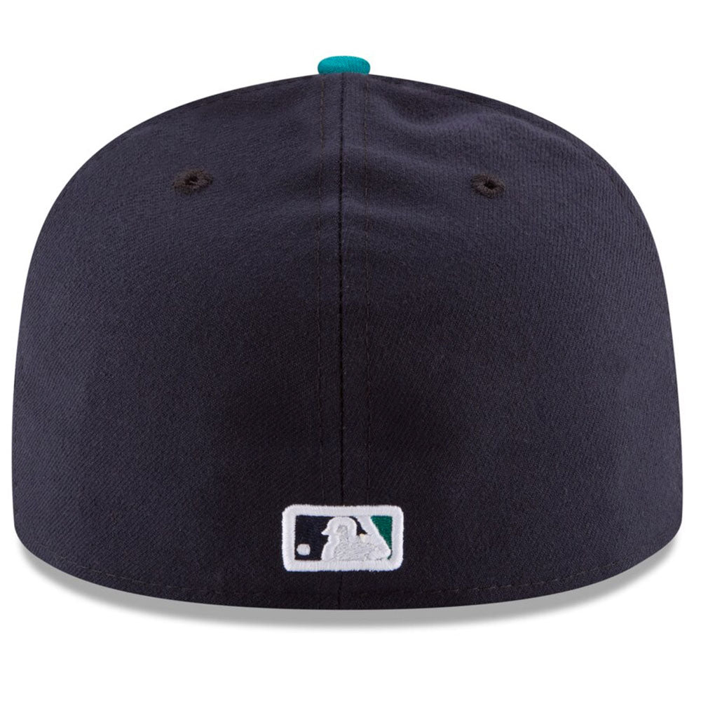 Seattle Mariners New Era Navy/Aqua Alternate Authentic Collection On Field 59FIFTY Fitted Hat - Kurolabel Brand