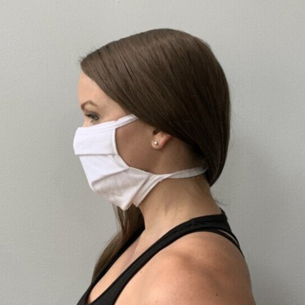 Cloth Washable & Reusable Pleated Face Mask - Kurolabel Brand