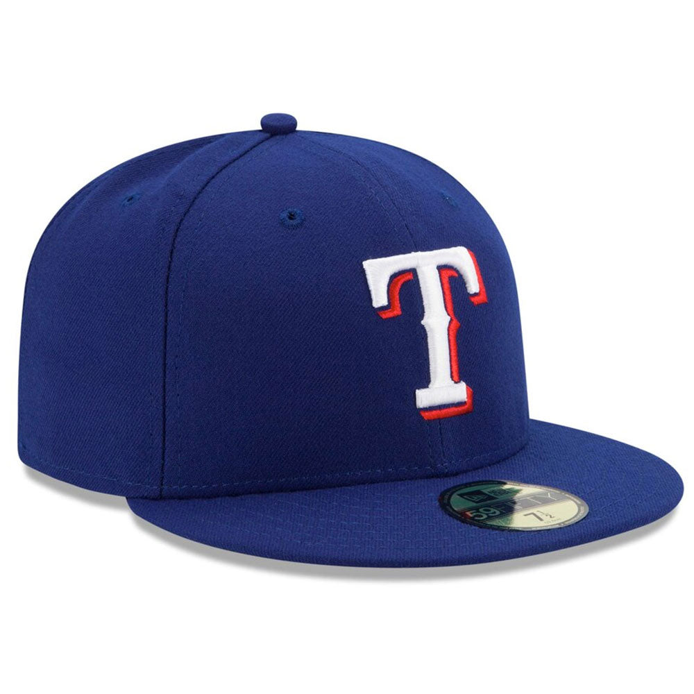 Texas Rangers New Era Royal Game Authentic Collection On-Field 59FIFTY Fitted Hat - Kurolabel Brand