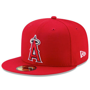 Los Angeles Angels New Era Red Game Authentic Collection On-Field 59FIFTY Fitted Hat - Kurolabel Brand