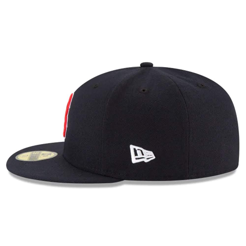 Boston Red Sox New Era Navy Game Authentic Collection On-Field 59FIFTY Fitted Hat - Kurolabel Brand