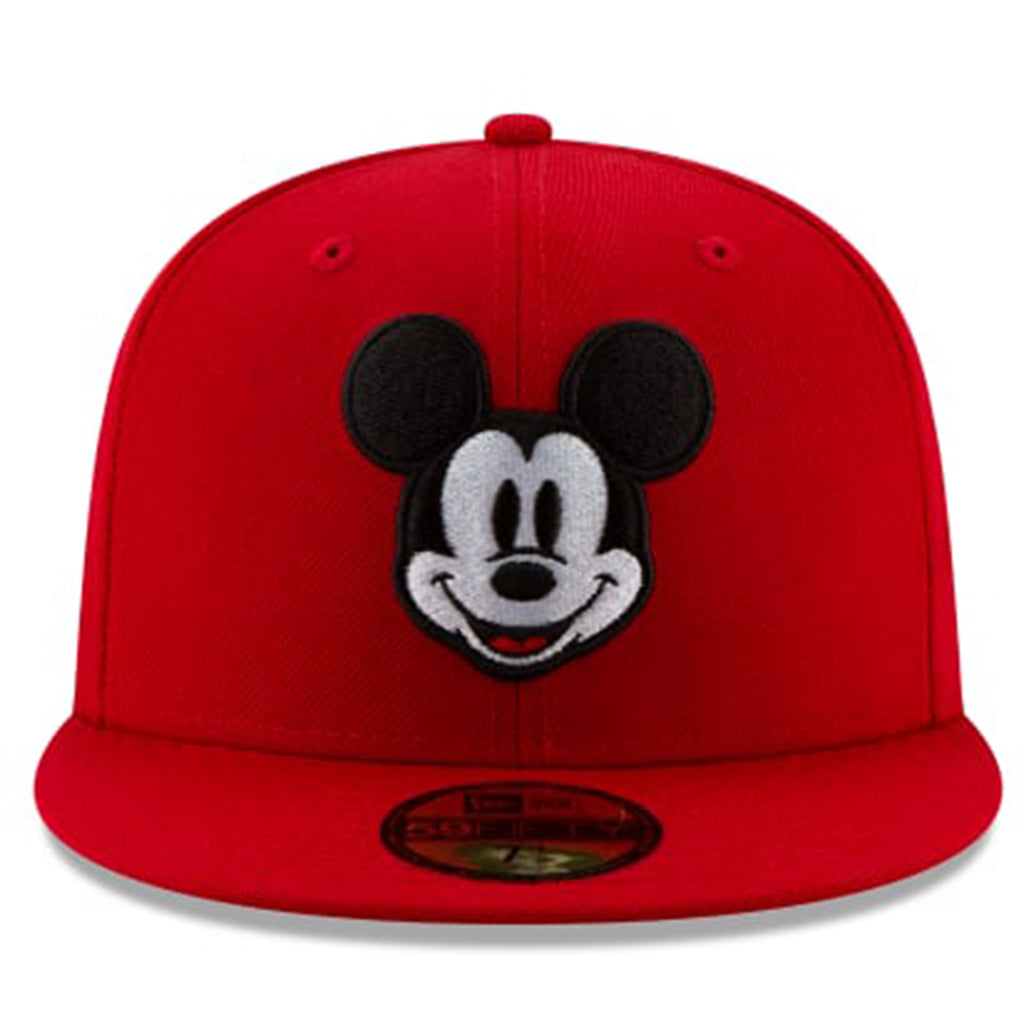 Disney Mickey Mouse Face 59fifty Fitted-Red Color - Kurolabel Brand
