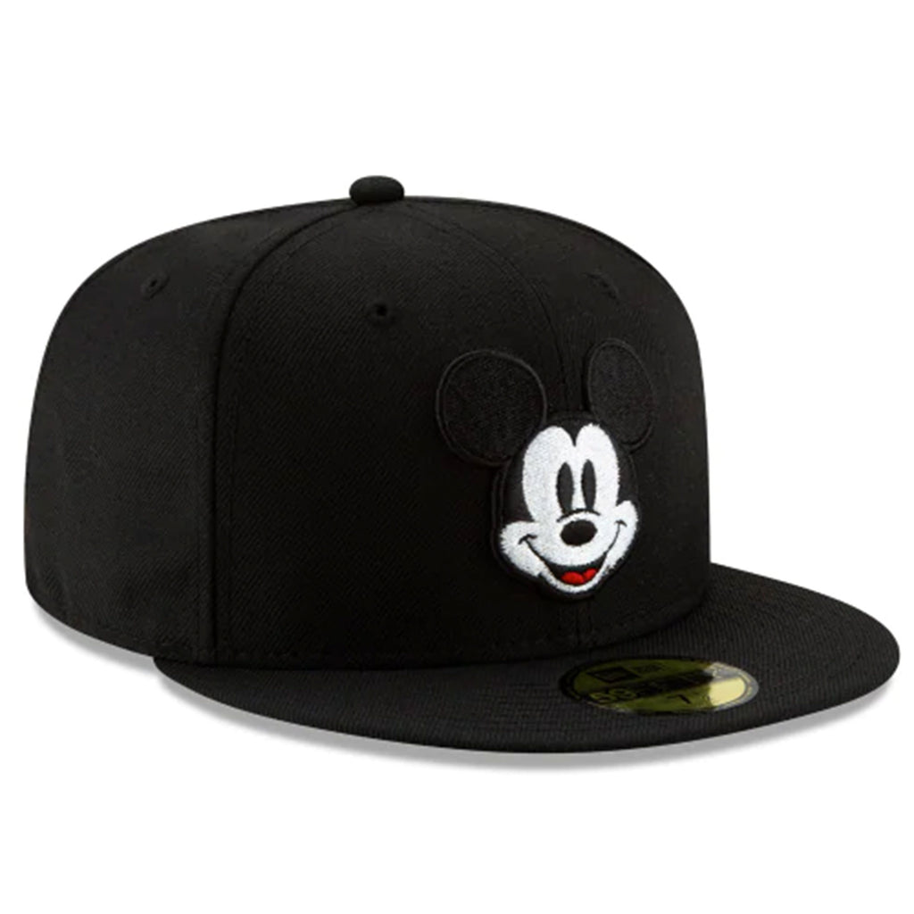 Disney Mickey Mouse Face 59fifty Fitted-Black Color - Kurolabel Brand
