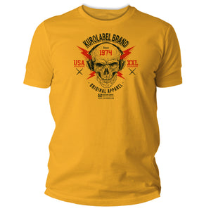 Original Apparel Skull Graphic T Shirt - Kurolabel Brand