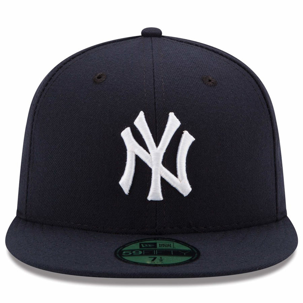 New York Yankees New Era Navy Game Authentic Collection On-Field 59FIFTY Fitted Hat - Kurolabel Brand