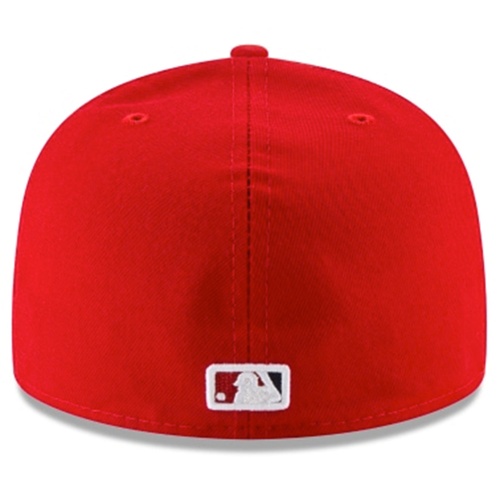 Washington Nationals New Era Red 2019 World Series Champions Side patch 59FIFTY Fitted Hat - Kurolabel Brand
