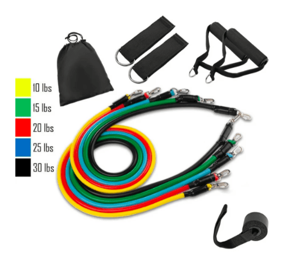 11PC Resistance Bands Set - For Ultimate Workout
