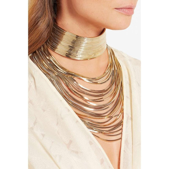 Luxury Metal Chain Choker - TIMELESS