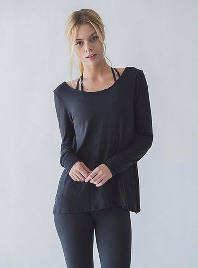 Breeze Drape Top-NOA APPAREL