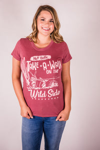 Cotton & Rust Boutique + CBT Walk on the Wild Side Tee