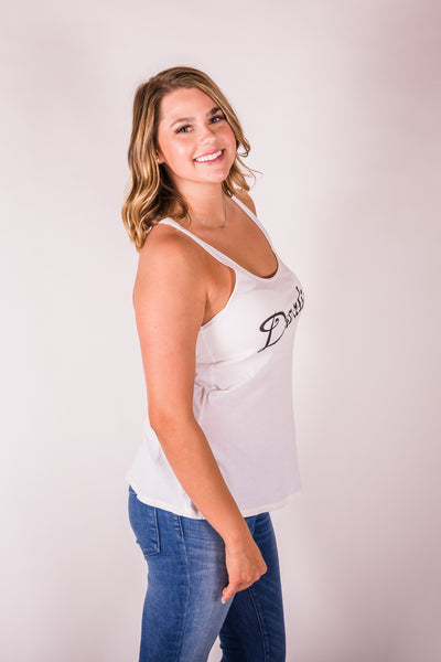 Cotton & Rust Boutique + BB Darlin Racer Tank