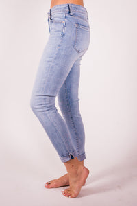 Cotton & Rust Boutique DJ Zimi Crop Comfort Skinny