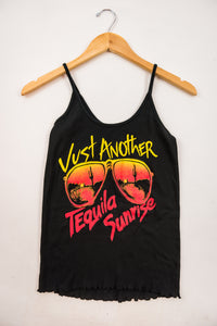 Cotton & Rust Boutique BB Tequila Sunrise Sissy Tank