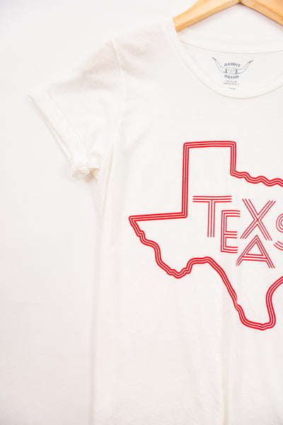 Cotton & Rust Boutique BB Texas Womens Tee