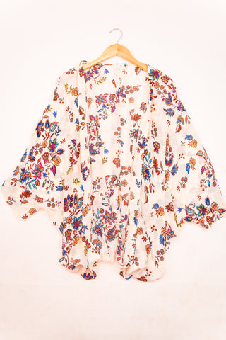 Cotton & Rust Boutique + ENCRM Charolette Floral Kimono
