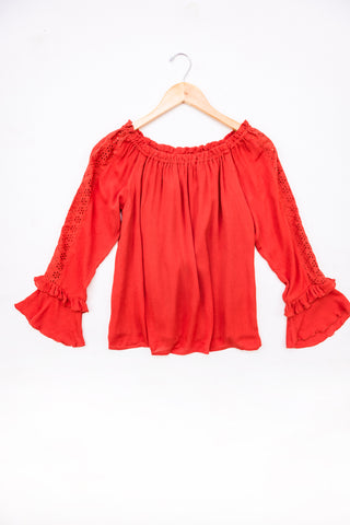 Cotton & Rust Boutique FGM Trixie Off Shoulder Top