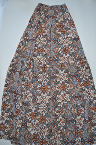 Cotton & Rust Boutique + Lola Print Skirt