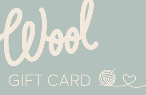 Wild & Woolly Gift Card