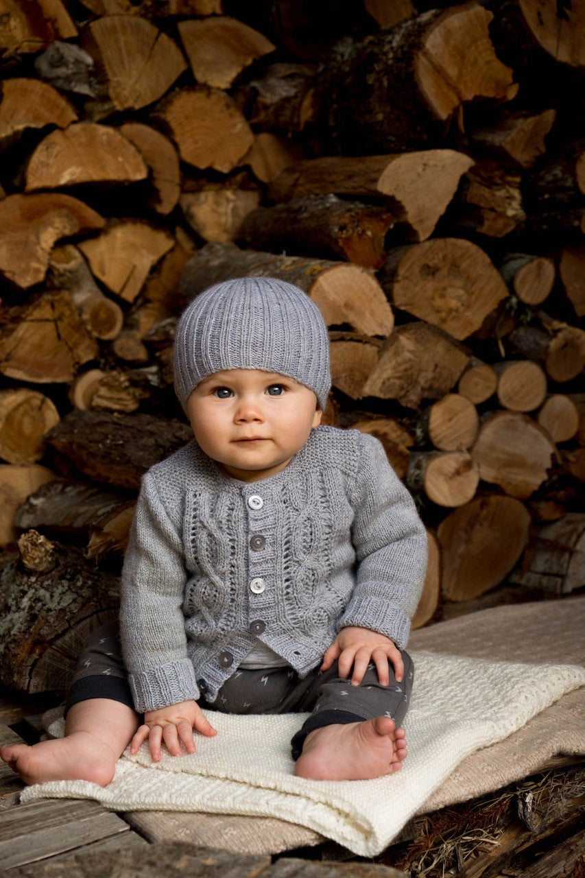 Bc55 - Jasper Cardigan and Beanie