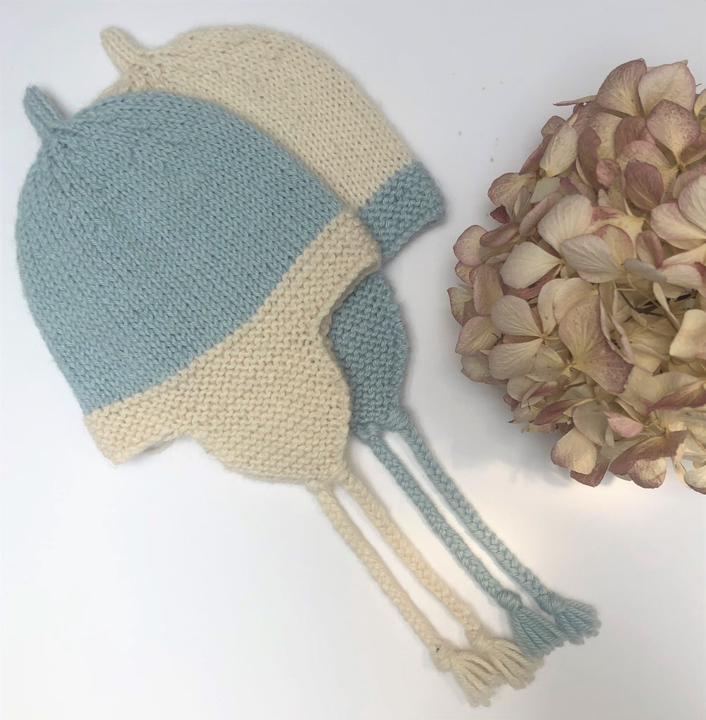 Babies Beanie With Cosy Earflaps