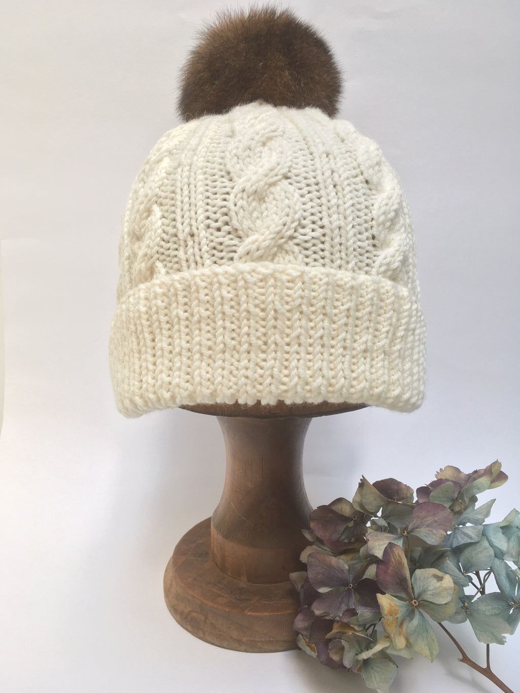 Pure New Zealand Winter Hats...for a Little Toddler and Mum or Dad.