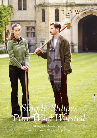 Rowan Simple Shapes Pure Wool Worsted