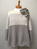 Classic Sweater in Organic Cotton and Alpaca