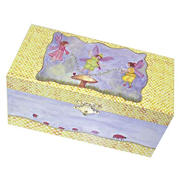 Stowaway Music Box Closed | beautiful childrens gifts and decor from Enchantmints