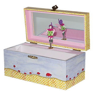 Stowaway Fairy Music Box Open View | Gorgeous gifts and decor for children from Enchantmints