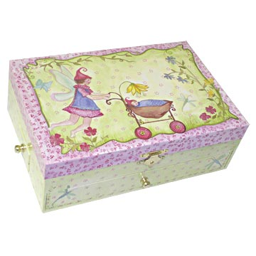 Tray Trove Music Box closed | beautiful childrens gifts and decor from Enchantmints