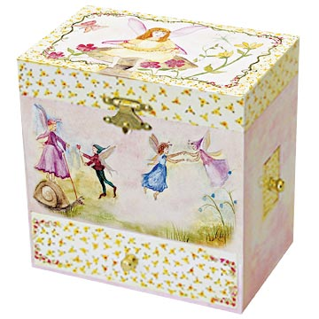 Fairy Music Box closed | beautiful childrens gifts and decor from Enchantmints