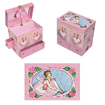 ballerina Music box closed | Beautiful childrens gifts and decor from Enchantmints