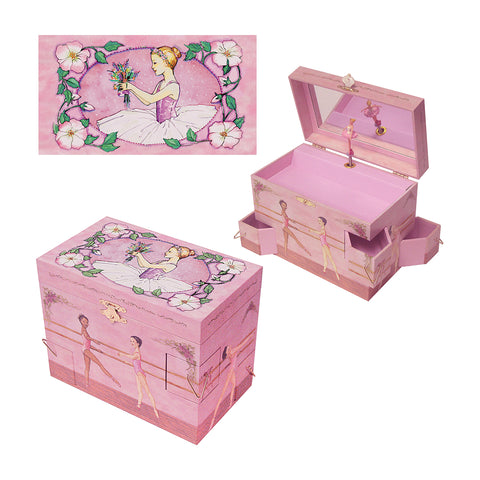 ballet school music box from enchantmints