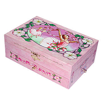 The Recital Ballet Music Box from Enchantmints closed