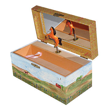 Big Sky Music Box Open | Beautiful gifts and decor for children from Enchantmints