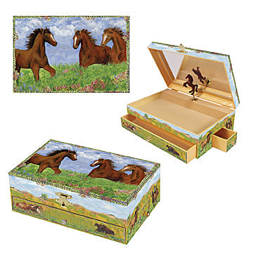 Prairie Music Box three in one | Beautiful childrens gifts and decor from Enchantmints