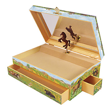 Prairie Music Box open | Beautiful childrens gifts and decor from Enchantmints