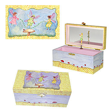 Stowaway Fairy Music Box Three-In-One View | Gorgeous gifts and decor for children from Enchantmints