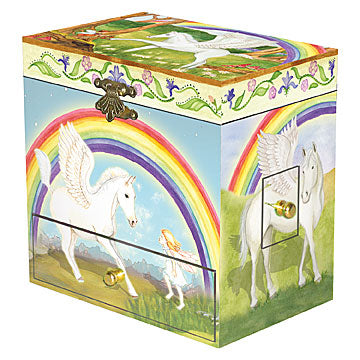 Pegasus Music Box closed | beautiful childrens gifts and decor from Enchantmints
