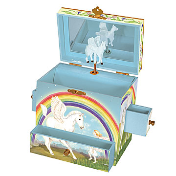 Pegasus Music Box Open View | Beautiful gifts and decor for children from Enchantmints
